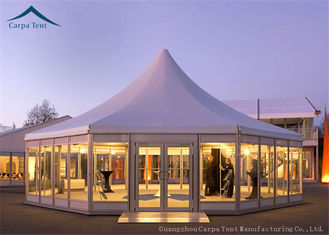 China Multi-Sided Party Tents With Glass Wall supplier