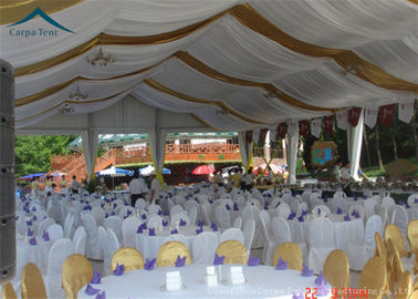 China Customized Outdoor Party Tents Outdoor Wedding Tent  With Curtains supplier