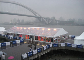 China Luxury Public Parties Clear Event Tents UV Resistant  15m * 30m supplier