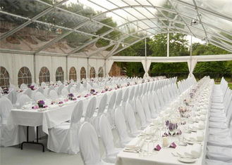 China Romantic Water Proof Outdoor Party Tents Over 300 People For Banquet supplier