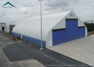 China Water Proof Large Aircraft Hangars Different Size With Heavy Duty Materials supplier