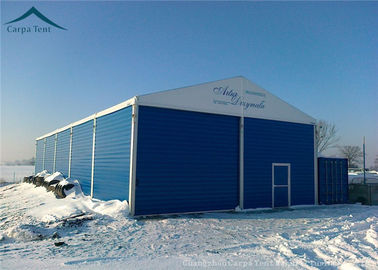 China 20m *50m Large Water Proof  Warehouse Tents With Durable Aluminium Structure supplier