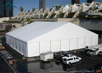 China 40m*60m Huge Stretch Tent Marquee With Steel Sandwich In Nigeria supplier