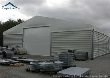 China Customzied Shape Aircraft Hangar With Wide Space , Wind Resistant supplier