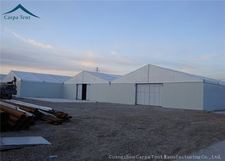 China Rainproof  White Marquee Outdoor Temporary  Canopy  Tents For Cargo Storage supplier