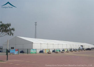 China Width 15m  Functional Aluminium Warehouse Tents For Factory Fireproof supplier