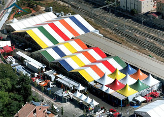 China Spaious Spaious Exhibition Event Tents For Party Solution / Workshop / Fashion Show supplier