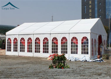 China Windproof Outdoor Event Tents With Aluminium Frame And Clear Windows supplier