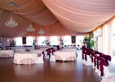 China A - Frame Outdoor Event Tents With Roof Linings And Curtains  Inner Decoration supplier