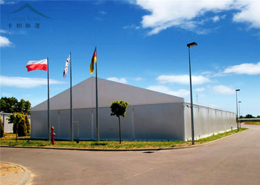 China All Weather Industrial Warehouse Tents Waterproof / Fire Retardant supplier