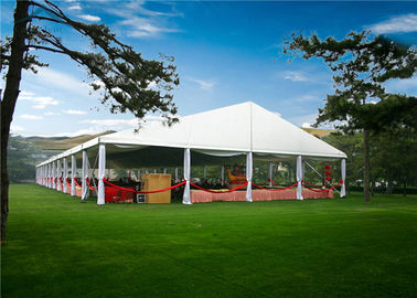China Multi - Functional European Style Tents With VIP Cassette Wooden Flooring System supplier