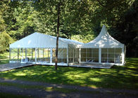 China 6mx9m Temporary Roof Structure Outdoor Party Tents For Garden Apartment factory