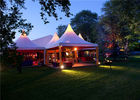 China 4mx4m Clear Canvas Outdoor Wedding Tents High Pressed For Family Banquet factory