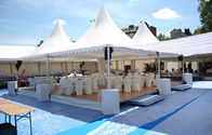 China Unique White Pagoda Tents Pagoda Party Tent With Waterproof PVC Fabric factory