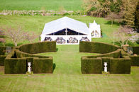 China Well Decoration Custom Event Tents Water Resistant  For About 300 People factory