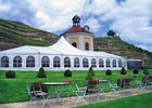 China 300~2000 People Big Wedding Tents With Tables And Chairs Heavy Duty / Fire Proof / Wind Proof factory