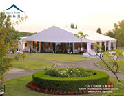 China Long Term 15 X 35 Outdoor Event Tents , 15m Clear Span White Marquee Wedding factory