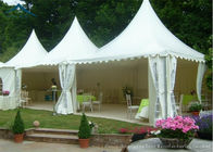 Good Quality Outdoor Event Tents & White Pagoda Tents 5m * 5m UV - Resistant  Garden Wedding Reception on sale