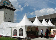 China Fashion 4x4m Wedding And Event Pagoda Tents PVC Flame Retardant/ factory