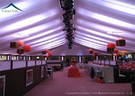 China Outdoor Large  Event Tents With Beautiful Roof Linings And Curtains 15m * 30m factory