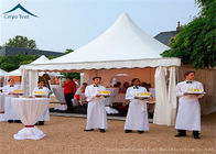 China 5m * 5m Small White Marquee Pagoda Party Tents For Outdoor Commercial Event factory
