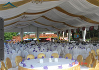 China Customized Size European Style Tents With Outdoor Decoration And Floor factory