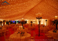 China Aluminum Large Wedding Tents Roof Linings Outdoor Event Water- Resistant factory