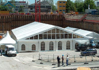 China Large 500 People Outdoor Sports Tents  Clear Windows For Exhibition factory
