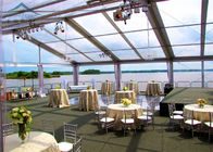 Good Quality Outdoor Event Tents & Permanently Installed Glass Wall Tents Clear   For High Grade Events on sale