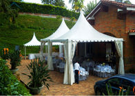 China 5m By 5m VIP Wooden Flooring Luxurious Party Pavilion Tent For Commercial Chats factory