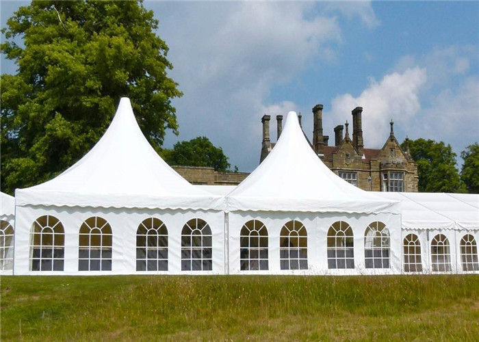 & Customized Pagoda Tents Party Pavilion Tent With Wooden Flooring