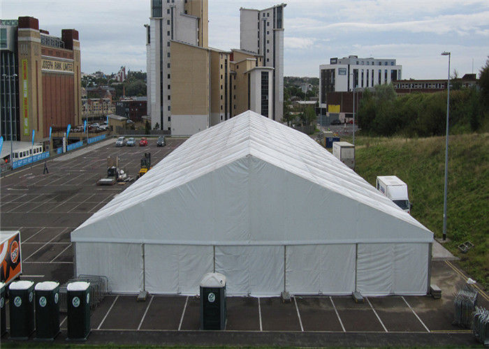 & Big Temporary 40*50m Industrial Storage Tents Long Term Durability