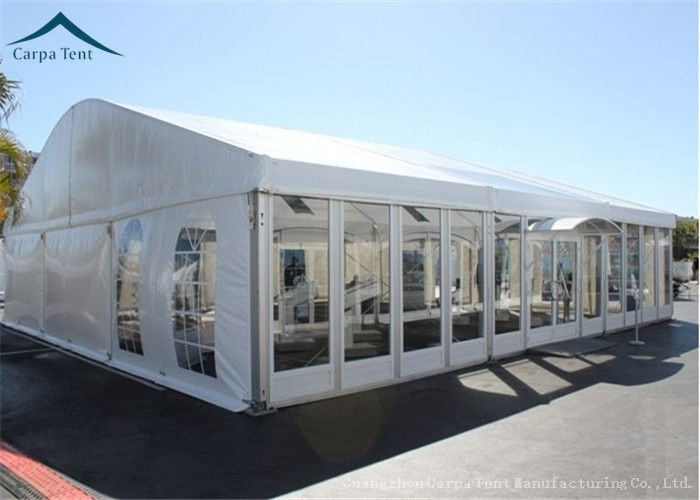 Elegant Different Shape Glass Wall Tent Structures For