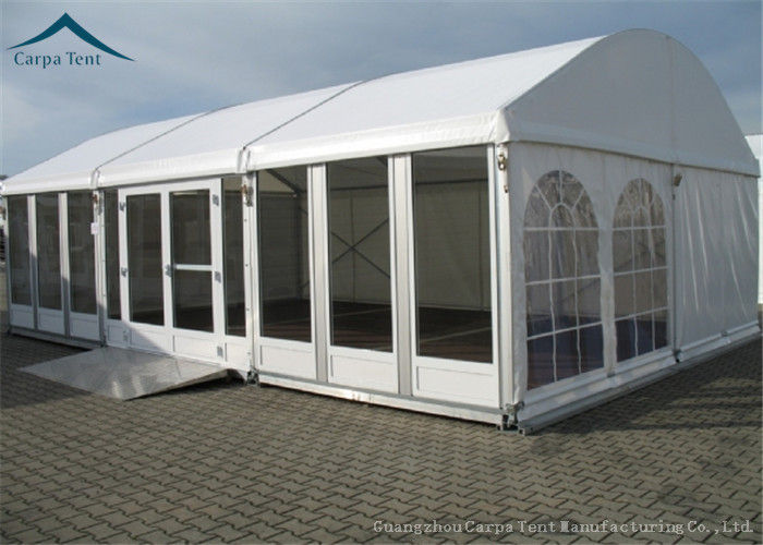 clear large dome outdoor party tents decoration for business party