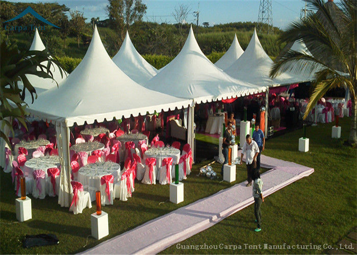 Easy-Assembly Aluminium Frame Pagoda Tents For Outdoor Wedding Parties With 5m by 5m Size & Easy-Assembly Aluminium Frame Pagoda Tents For Outdoor Wedding ...