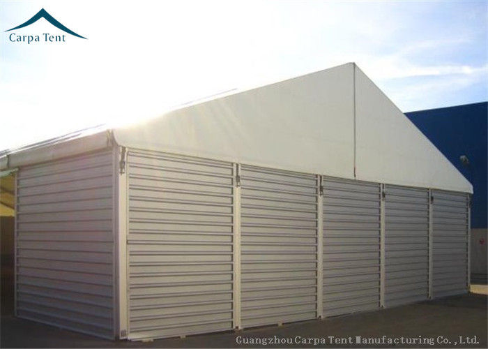 12m * 35m Movable Commercial Logistics Warehouse Tents With Sandwich Panel Wall & 12m * 35m Movable Commercial Logistics Warehouse Tents With Sandwich ...