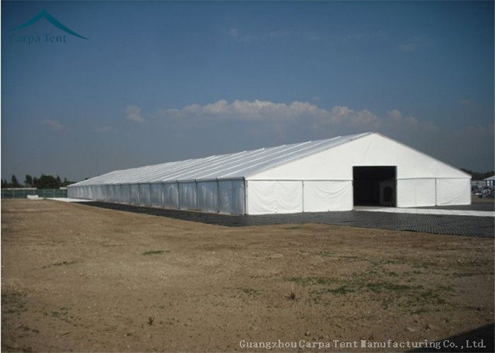 White Marquee Outdoor Tent Use For Storage, 10m By 30m Large Temporary  Warehouse Tent