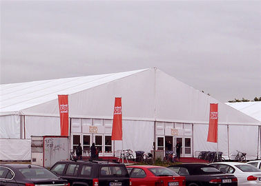 China Business Trade Show Tent 35x45m Large Durable Aluminium Frame Pvc Fabric factory