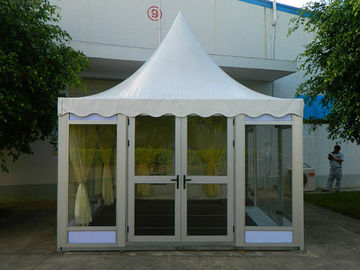 China Clear White Large Portable Tents Circus High Pressed With Glass Wall factory