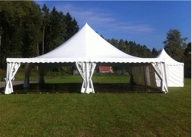 China Golf Events 10m*10m Pagoda Tents Waterproof Flame Retardant 0.5kn/sqm factory