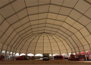 China 20m Diameter Waterproof Industry Business Clearspan Structure Polygon Shelter factory