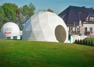 China Outdoor PVC Heavy Duty Geodesic Tent Dome Waterproofing Half Sphere factory