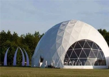 China Typical Structure Geodesic Dome Tents For Large Commercial Activities distributor