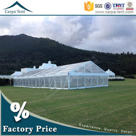 China Outdoor Corporate Event Marquees Party Tents with Transparent Walls factory