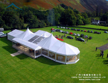 China Large Capacity Pavilion Event Aluminum Alloy Frame Wedding Party Tent for Sale factory