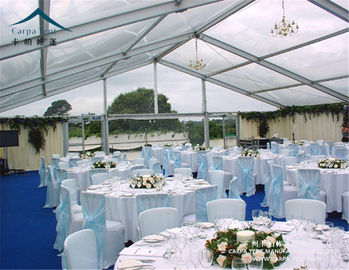 China UV - Resistant Outdoor Event Tents / Aluminum Alloy Trade Show Marquee Event Tent factory