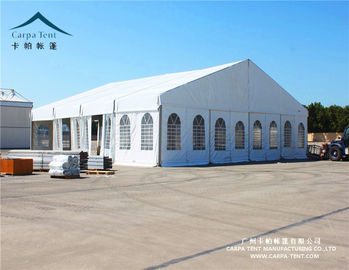 China Marquee Indian Clearspan Structure Aluminum For Wedding , PVC Coated Polyester distributor