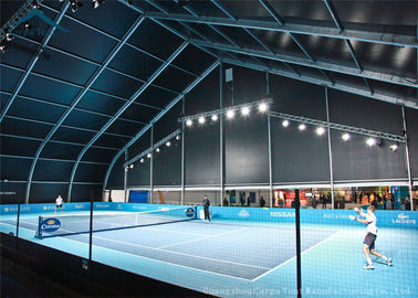 China PVC Curved Canopy Tent For Tennis Court Sun Poof And Water Proof distributor