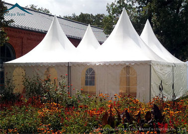 China Pagoda European Style Tents For Parties Wind Resistant  Tent Over 100 People distributor