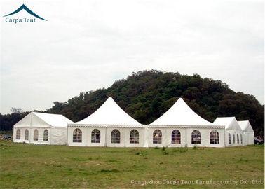 China 4m By 4m Elegant Pagoda Tents UV - Resistant Tent Frabic For Outdoor Party factory